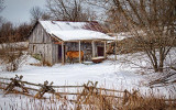 Rustic Horse Shed 20110306