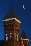 Moon Over Steeples 20110327