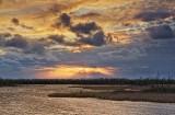 Swale Sunset 08191-2