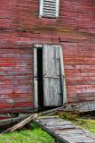Boathouse Sinking Into Ruin 09536-7