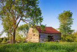 Old Log Barn 20110614