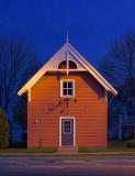 Little House At Dusk 18455-6