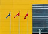 Three Flags At IKEA DSCF03587