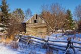 Old Log Barn 20868