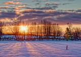Rideau Canal Winter Sunrise 20120120