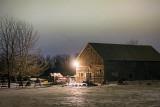 Barn Under A Bright Night Sky 21107-14