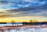 Sunrise Snowscape 20120126