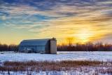 Barn At Sunrise 21120-3