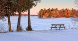 Frozen Otter Lake 20120204