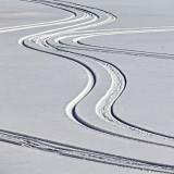 Tracks On Frozen Farren Lake 20120226