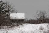 Log Cabin In Winter 21955