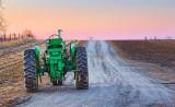 Tractor At Sunrise 20120318