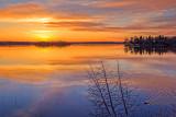 Otter Lake Sunset 23183