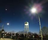 Streetlight Lens Flare Test F550 (DSCF04286)