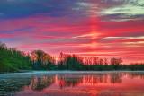 Sunrise Solar Pillar 20120507