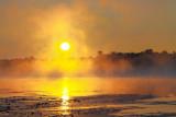 Rideau Canal Misty Sunrise 20120820