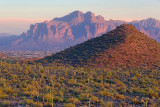Mountains At Sunset 78956