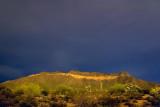 Pass Mountain At Night 79128