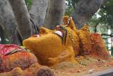Reclining clay goddess near Salem, Tamil Nadu http://www.blurb.com/books/3782738