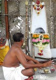 This Christian shaman practises with the help of the Dravidian God Sudalai. Tirunelveli District, Tamil Nadu.