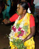 Woman in a trance at Mulaipari festival at Koovathupatti Tamil Nadu. http://www.blurb.com/books/3782738