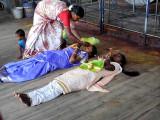 Fire ceremony for devotees at Irukkankudi temple near Sattur, Tamil Nadu. http://www.blurb.com/books/3782738
