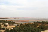 A huge lake near Siwa