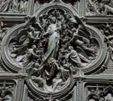 Detail From Cathedral Door
