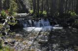 A rushing creek to cross