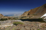 Upper Sardine Lake and Mono Lake