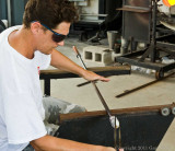 Glass Blowing In Hollywood, Florida
