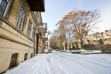 Old City with snow