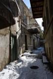 Sunlit alley