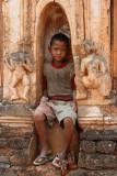 Enfant à la pagode d'Alaungsitthou