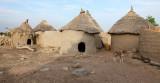 Les cases du village
