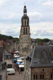 Le clocher de l'église St Martin