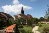 The public garden of Ousson-sur-Loire