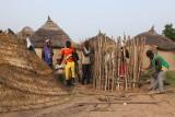 Construction d'un silo à grain