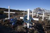 New graveyard of Kulusuk