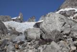 Glacier at the base of Pikkelhuen