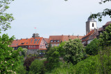 Sky line of Hohenlohe