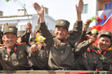 100th anniversary 15 April 2012  15 April 2012 centennial parade Pyongyang