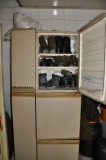 Repurposing broken fridget into shoe closet