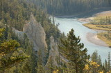 Hoodoo Valley in Bow River