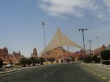 intersection gate of Al Ula city