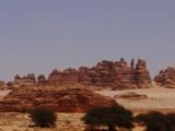 hilly surrounding Madain