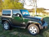 Jeep Wrangler Sahara 2012 black forest green