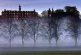 Shrewsbury School at dawn