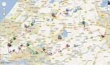 Groene Hartpad Google Maps/Earth