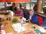 Viering Jolanda's verjaardag Zeist Landgoeren wandeling Groene Wissel 5 maart 2011